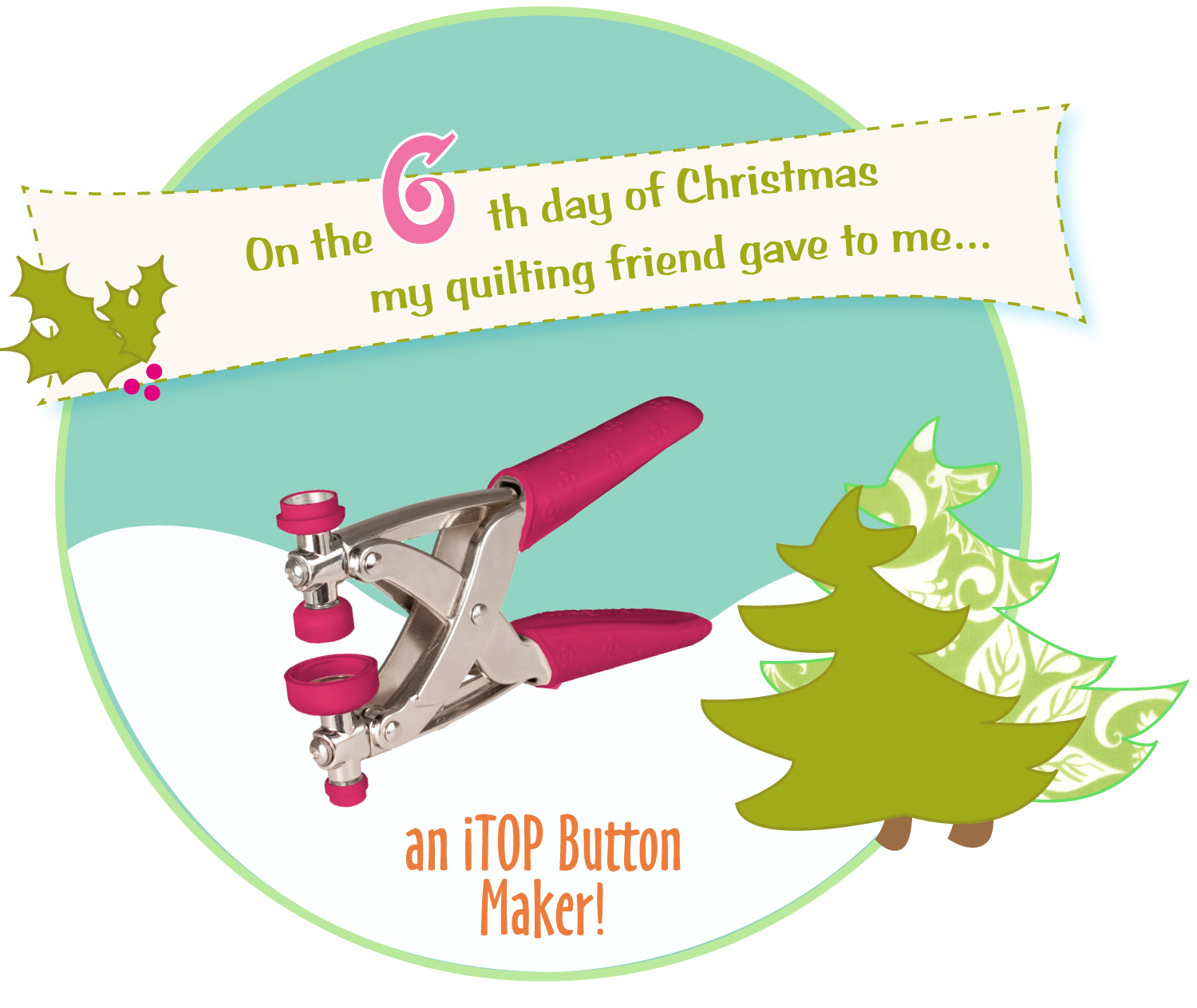 On the 6th Day of Christmas… – modafabrics