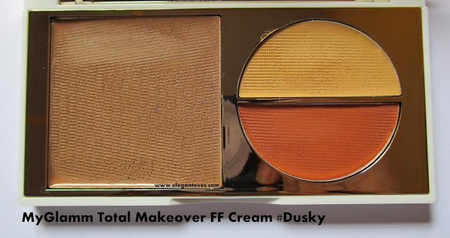 MyGlamm Total Makeover FF Cream dusky review swatch