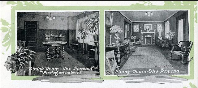 Daily Bungalow 1918 Aladdin catalog Pomona interior