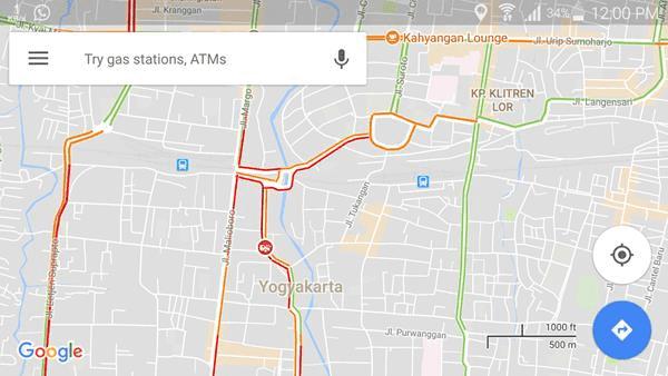 Cara Mudah Pantau Arus Lalu Lintas Menggunakan Google Maps
