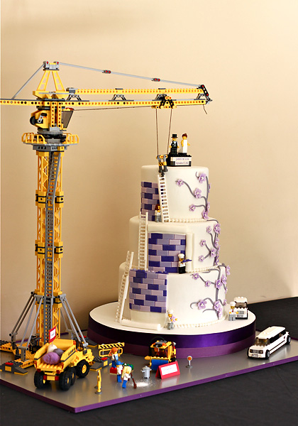 wedding cake construction couture lego wedding cake the couture cakery 22224