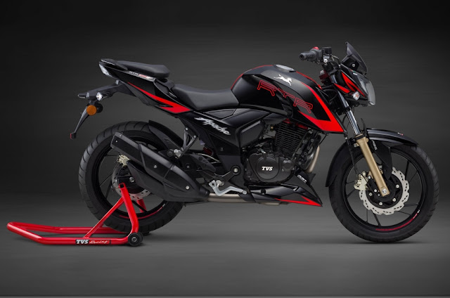 New 2018 TVS Apache RTR 200 4V Race Edition 2.0 Wallpaper