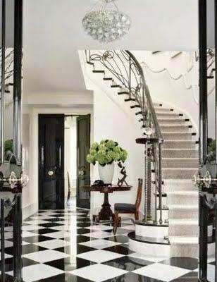 Via La Dolce Vita The Black And White Floor