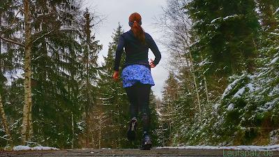 Kleidung für den Winter Laufrock