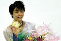 PATINAJE ARTÍSTICO - Yuzuru Hanyu suma su cuarto ISU Grand Prix seguido y Javier Fernández se cae del podio. Medvedeva también retuvo el título