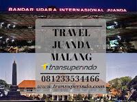 Jadwal Travel Juanda Malang - Transuperindo