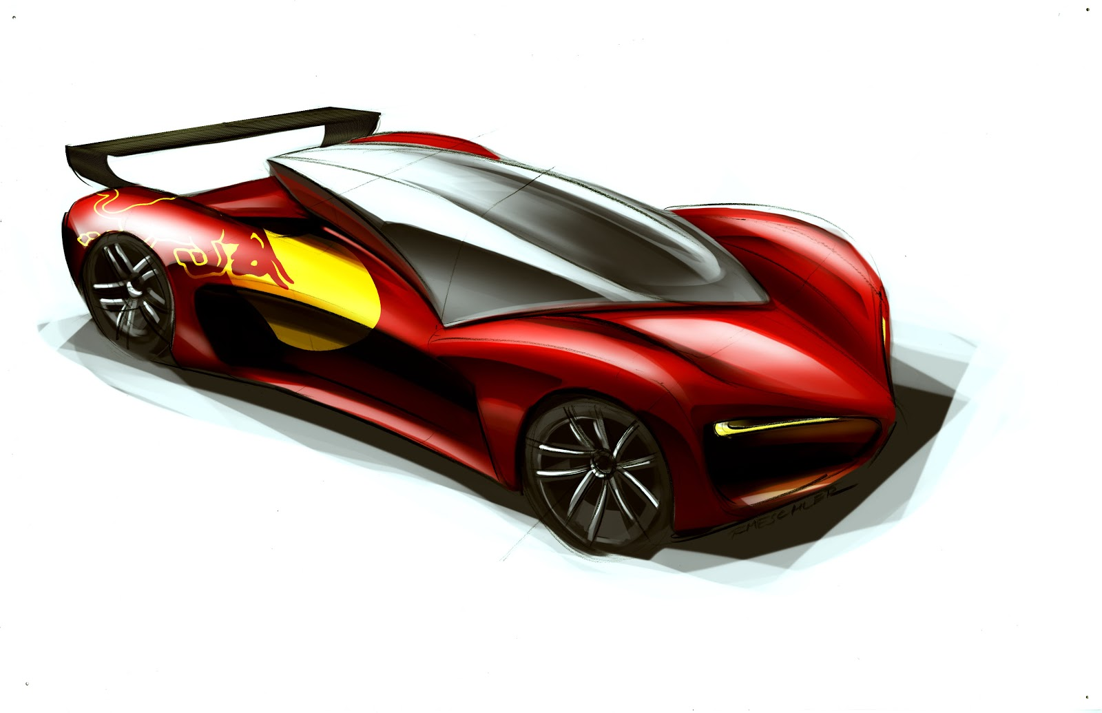 RMeschler: Race Cars W/Graphics