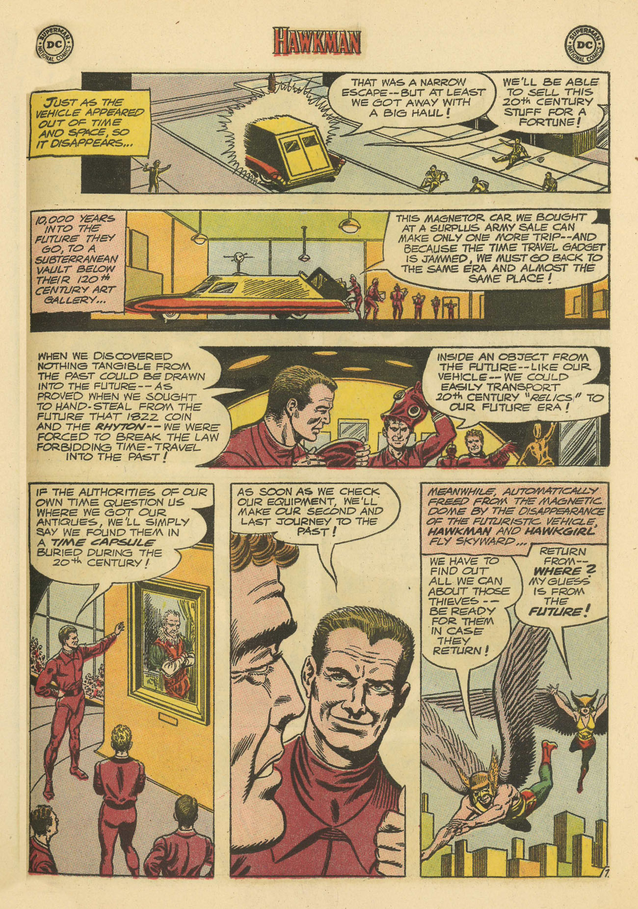 Hawkman (1964) issue 4 - Page 27