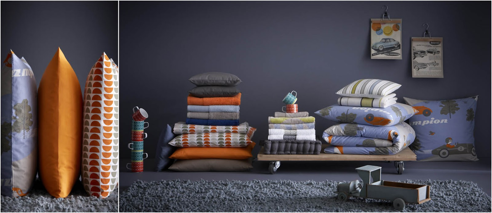 inspirations d co ocre gris pour une chambre enfant. Black Bedroom Furniture Sets. Home Design Ideas