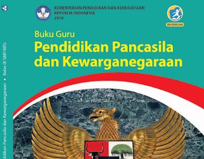 Buku Guru dan Siswa Kelas 9 SMP Kurikulum 2013 Edisi Revisi 2018