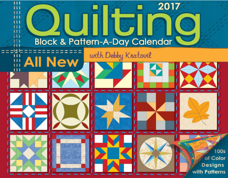 Monthly Calendar Quilt Patterns : Debby kratovil quilts block a day calendar is here