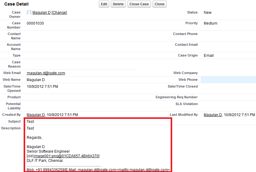 Infallible Techie: On-Demand Email to Case in Salesforce
