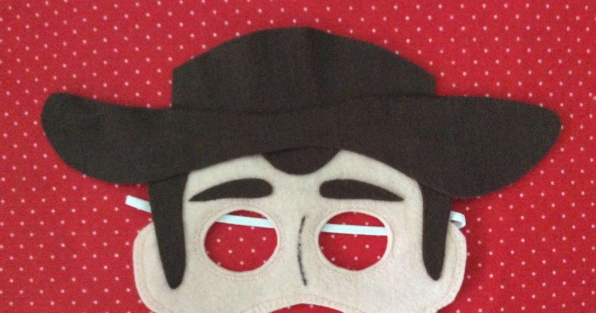 Arte Mimos e Dengos  Mascara Toy Story c6a50ab97b1