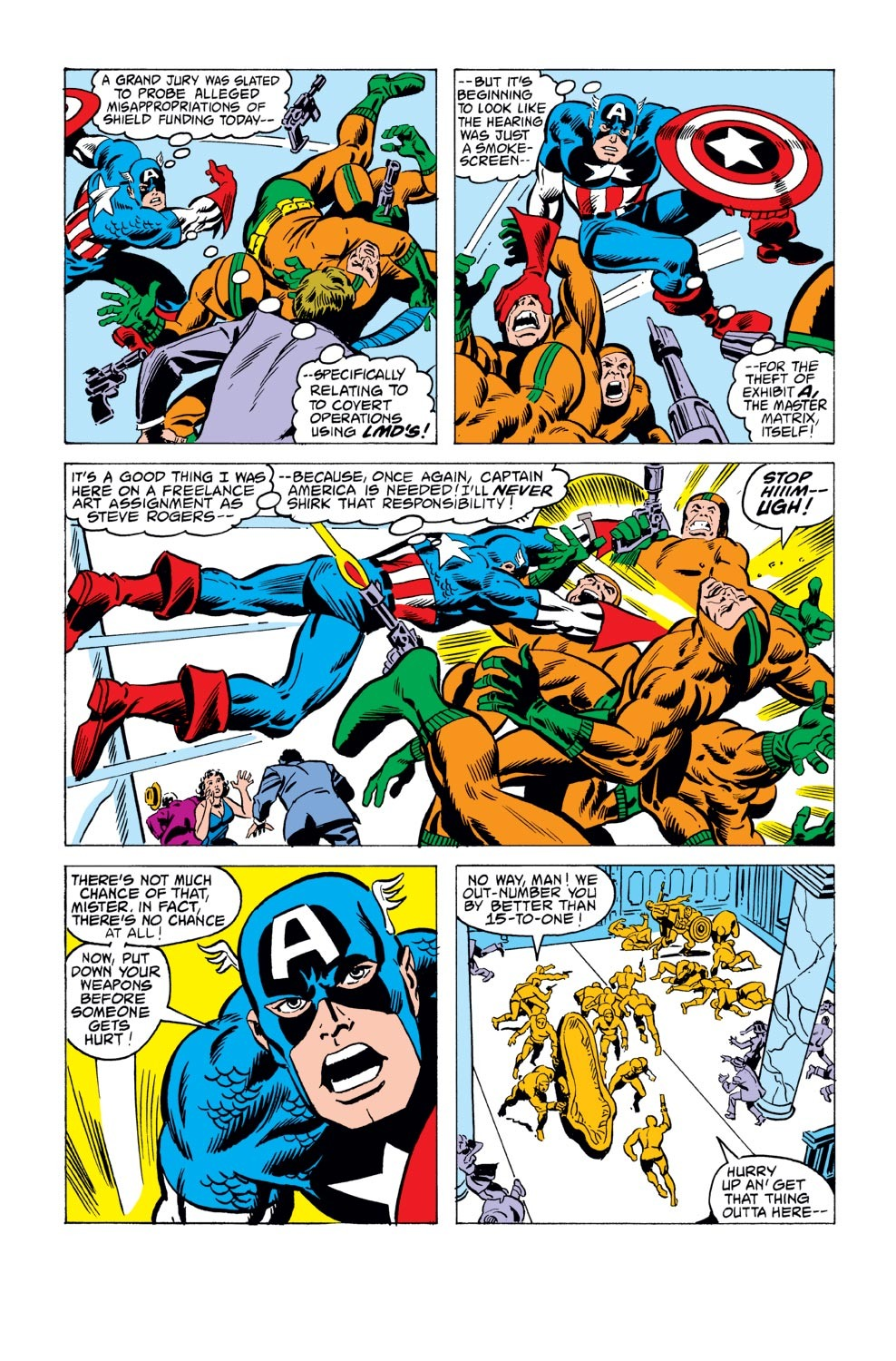 Captain America (1968) Issue #243 #158 - English 3