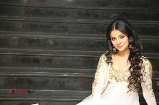 Telugu Actress Mahima Makwana Stills in White Desginer Dress at Venkatapuram Movie Logo Launch  0256.JPG