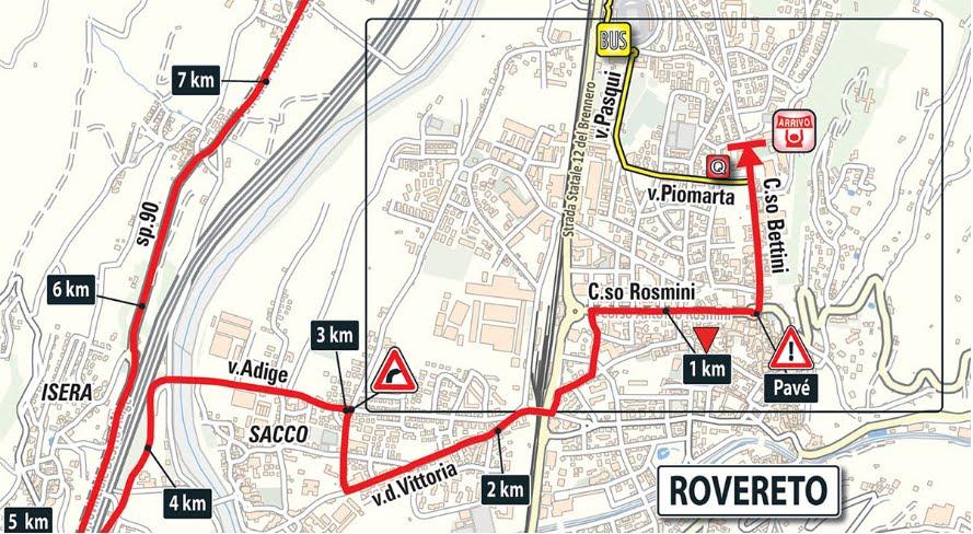 DIRETTA GIRO: Oggi Trento Rovereto Live Streaming, crono tappa gratis su Rai TV
