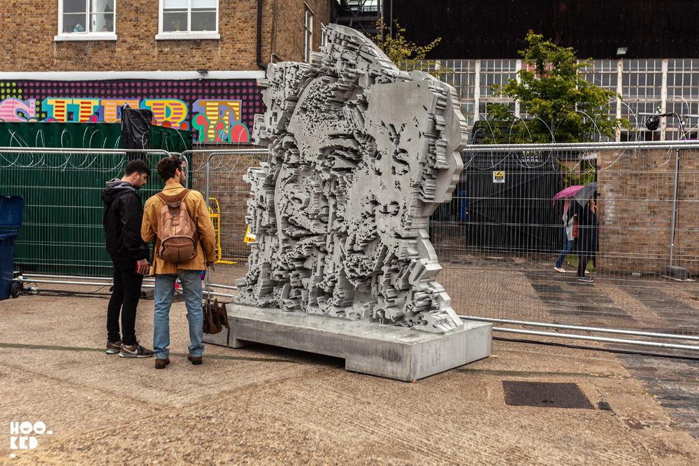 Festival Iminente curated by Portuguese artist Vhils in London