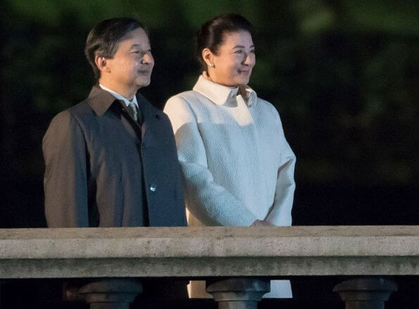 Emperor Naruhito and Empress Masako attended the National Festival held to celebrate the throne of new Emperor at the Imperial Palace