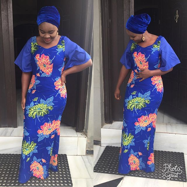 Simple Latest Ankara Long Gowns for Beautiful Ladies - Zaineey\'s Blog