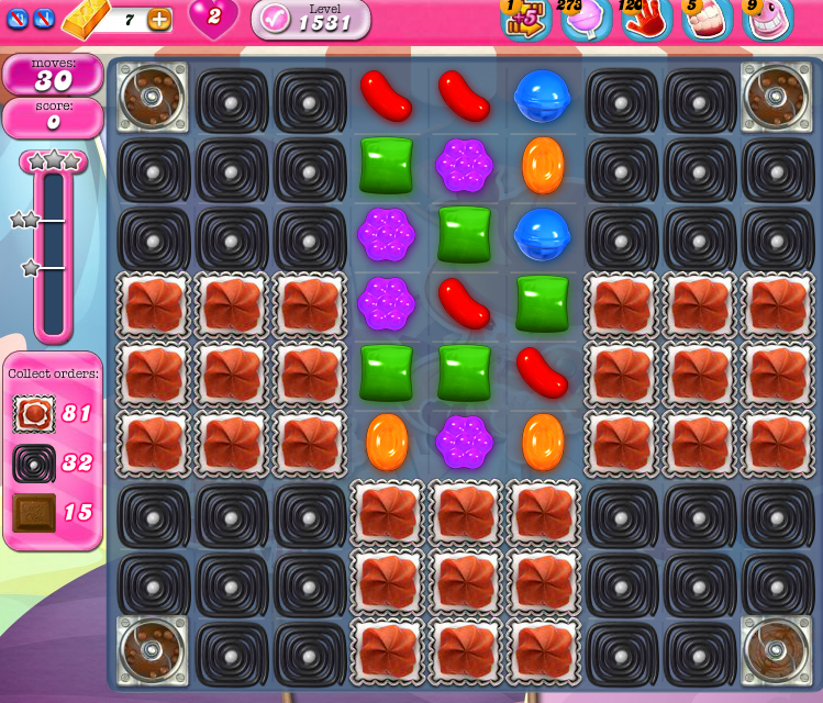 Candy Crush Saga 1531