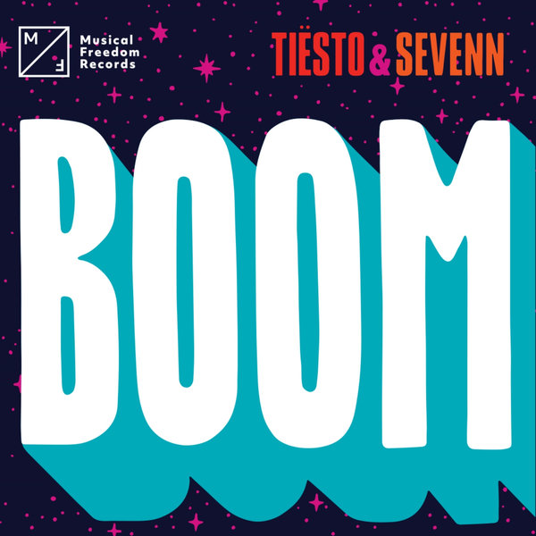 Tiësto & Sevenn - Boom - Single Cover