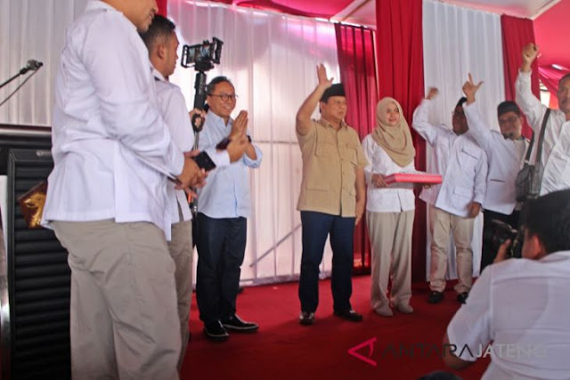 Warga Boyolali Curhat ke Prabowo Merasa Belum Sejahtera