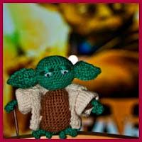 Yoda amigurumi