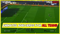 Animated Adboards For All Teams, Leagues & Cups - PES 2017