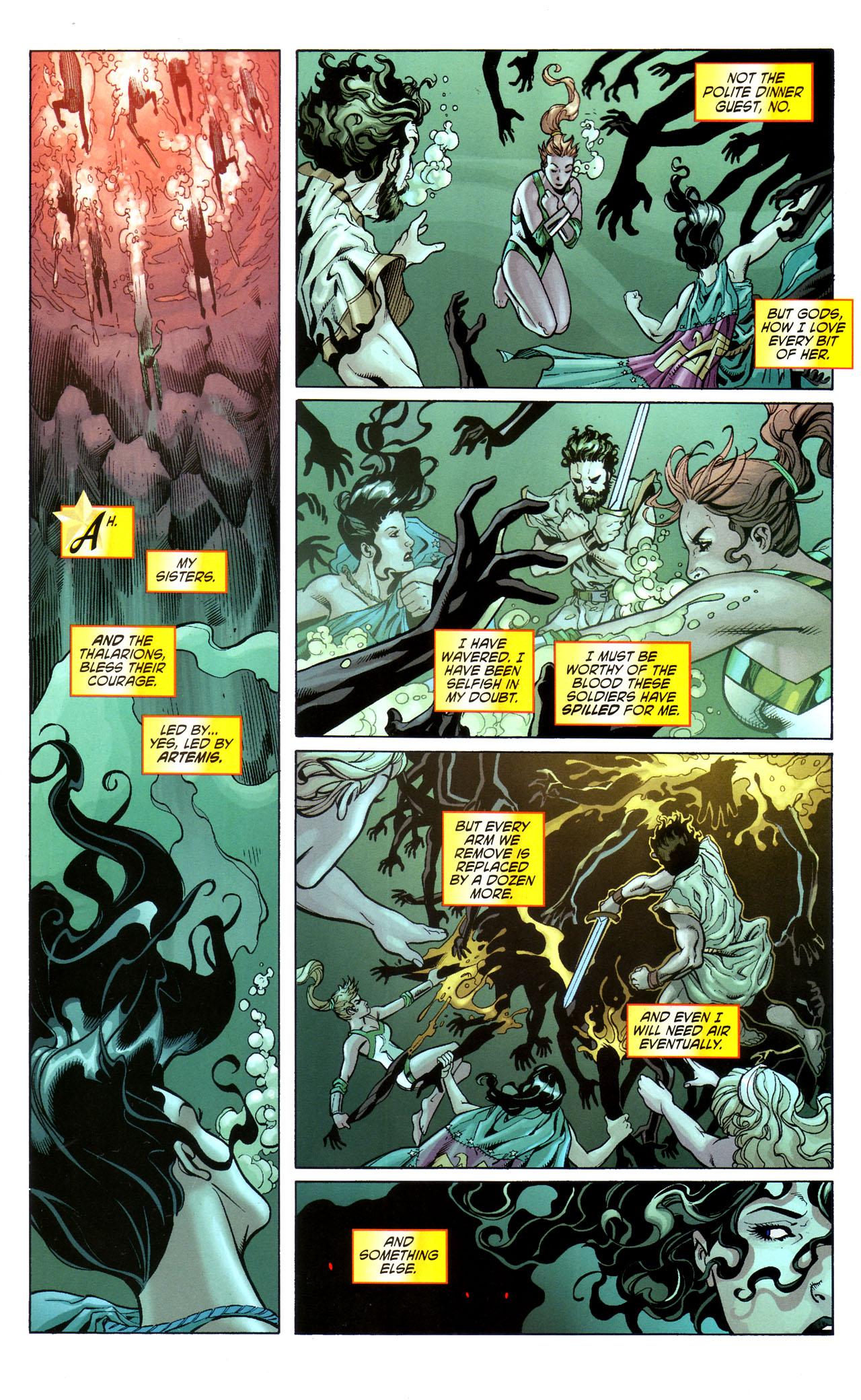 Read online Wonder Woman (2006) comic -  Issue #39 - 13