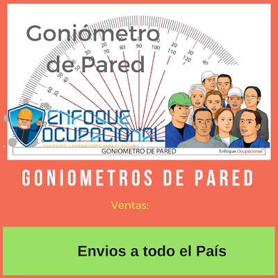 Goniometros de Pared. Venta, envios a todo el pais