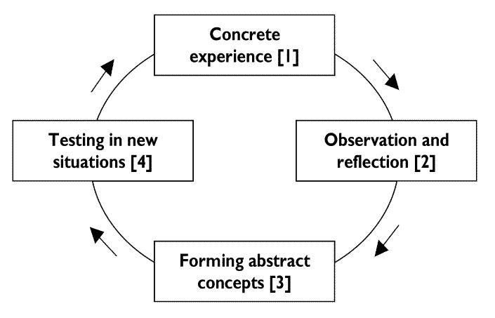 david kolb experiential learning cycle