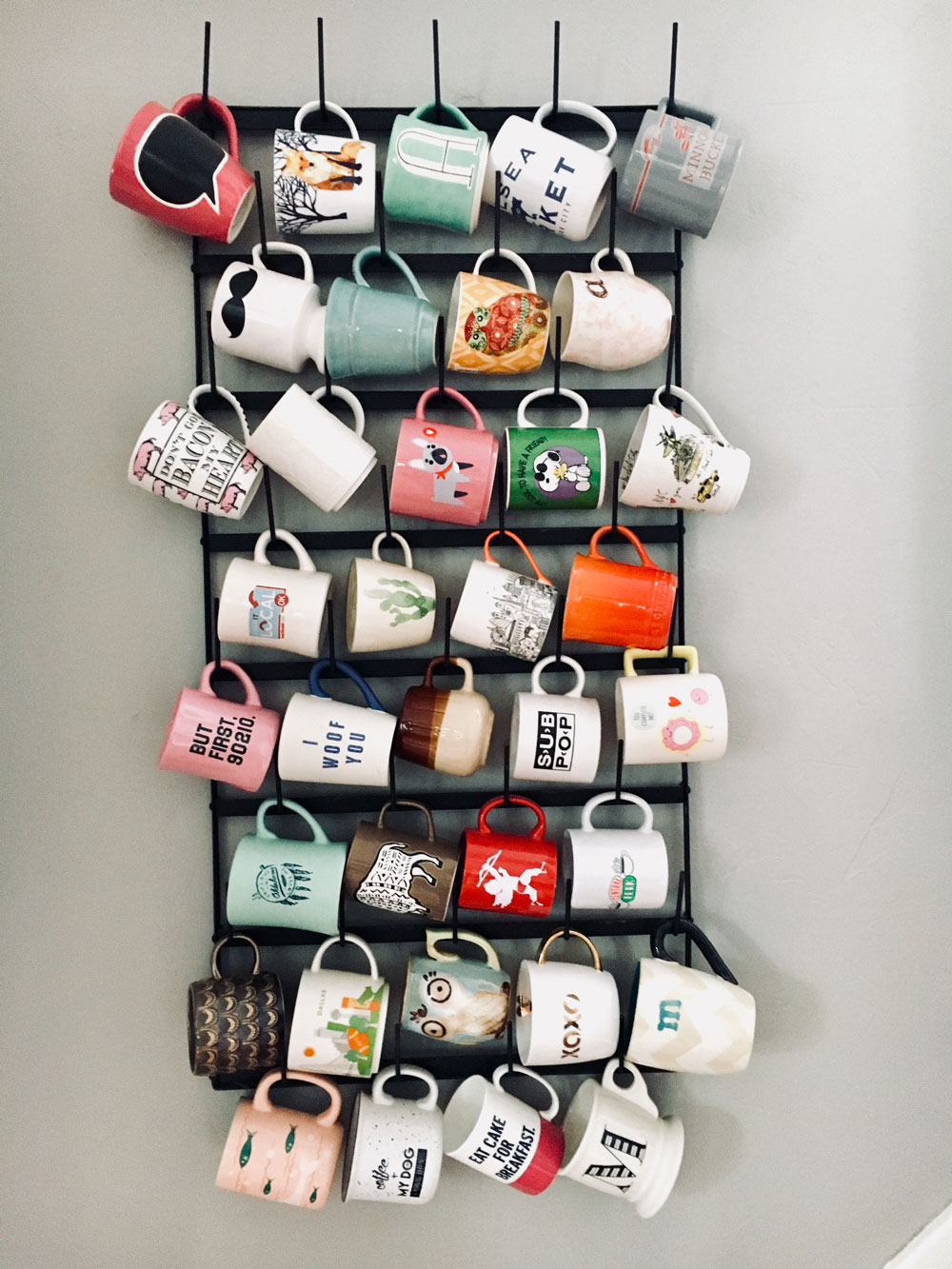 coffee mug collection