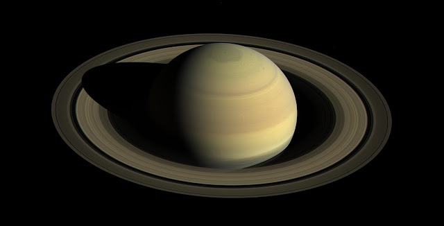 Saturn's Northern Hemisphere