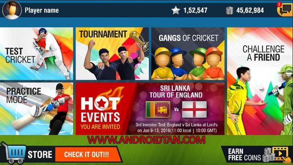 World Cricket Championship 2 Mod Apk Data for Android