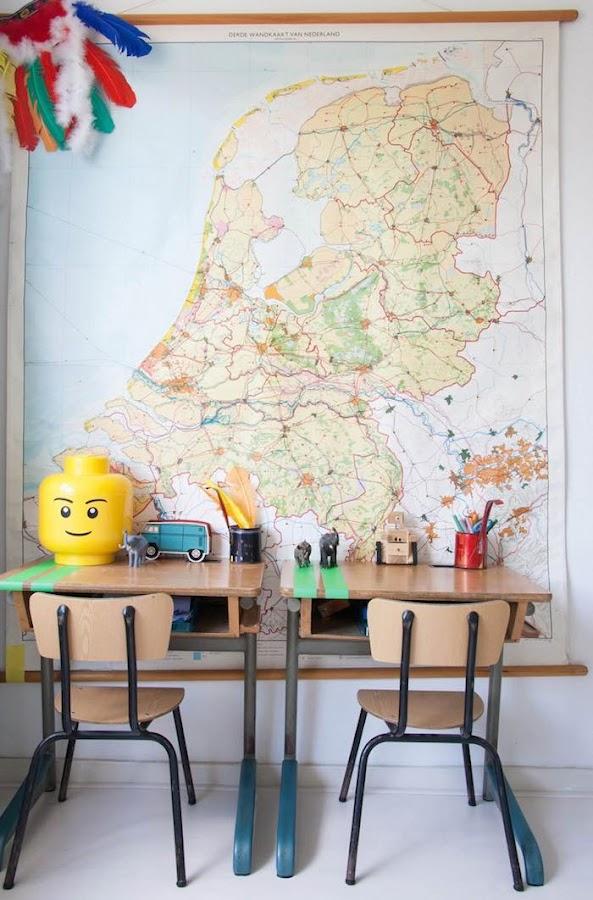 escritorios niños