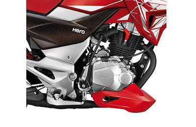2016 Hero MotoCorp Xtreme 200S engine pic