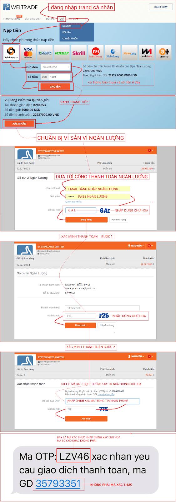 Nạp tiền weltrade, rút tiền weltrade, weltrade.com3