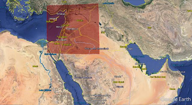 Negeri Syam, Perang Suriah