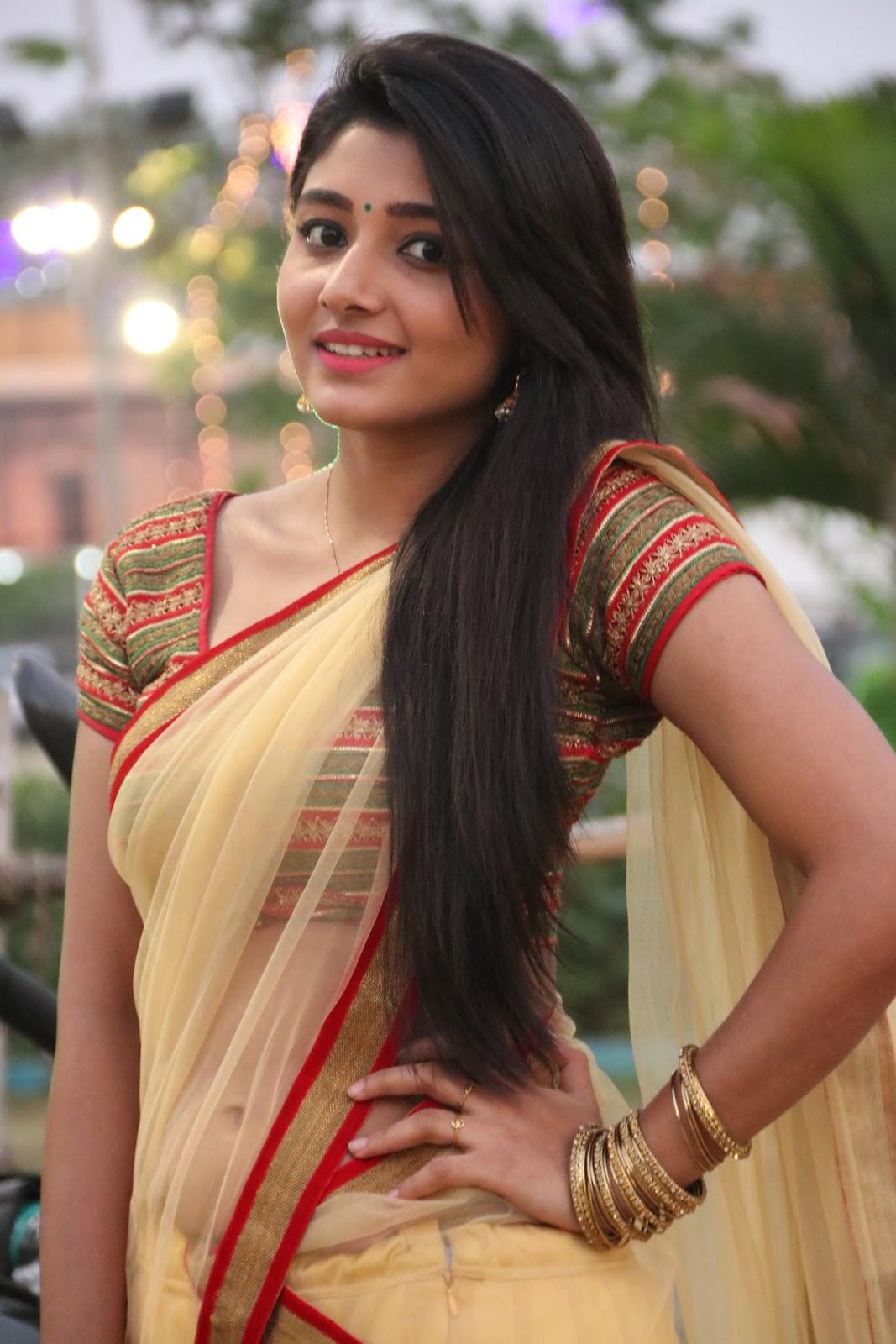 Tamil Actress Aditi Menon Half Saree Photos Tamil Cinema -2853