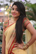 aditi menon new sizzling half saree stills-thumbnail-9