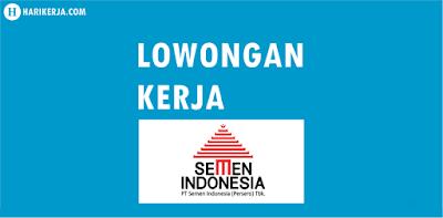 Lowongan Kerja Semen Indonesia Group Terbaru Juli 2017