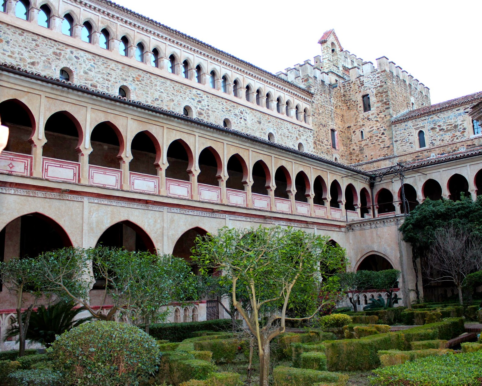 Claustro mudéjar del monasterio de Guadalupe
