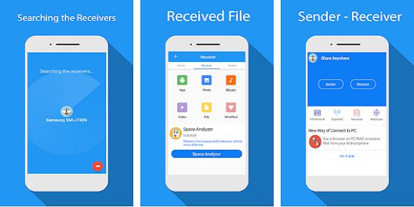Aplikasi Share - File Transfer dan Connect