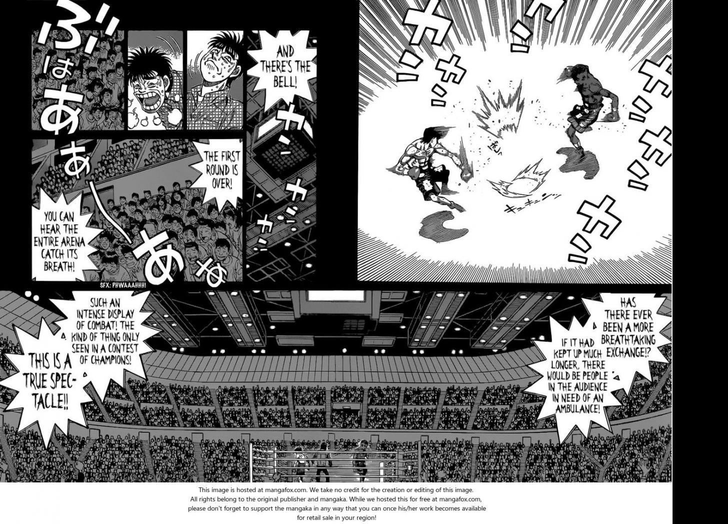 Hajime no Ippo - Chapter 1098