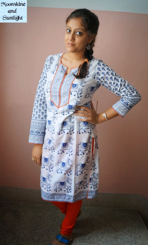 Indian fashion blog, Kolkata: Sticking to the roots |OOTD