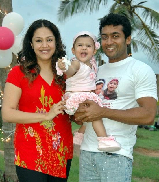 Surya Celebrates Son's Birthday In Style