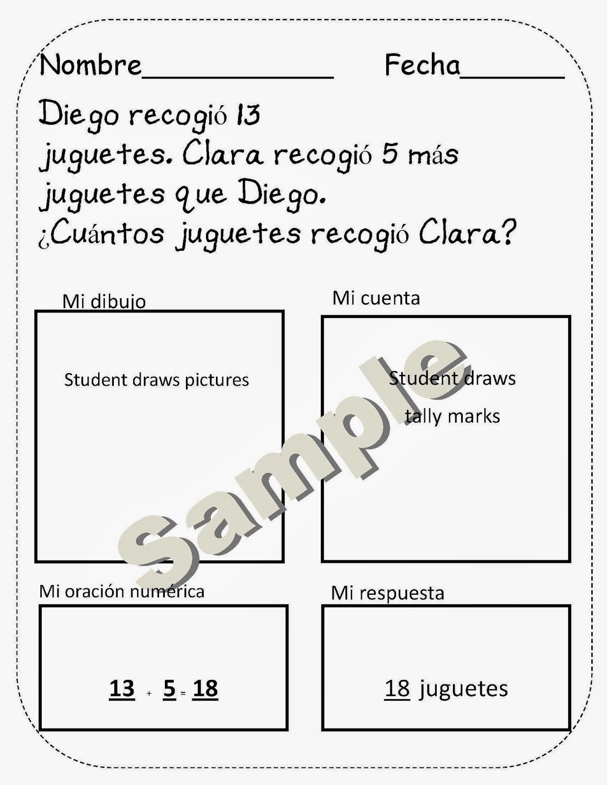 Math Word Problems For First And Second Graders
