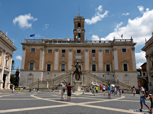 Estatua en bronce de Marco Aurelio