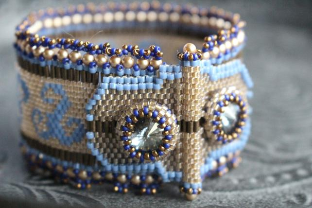 Rivoli Beaded Jewelry Patterns and Tutorials by TrinketsBeadwork