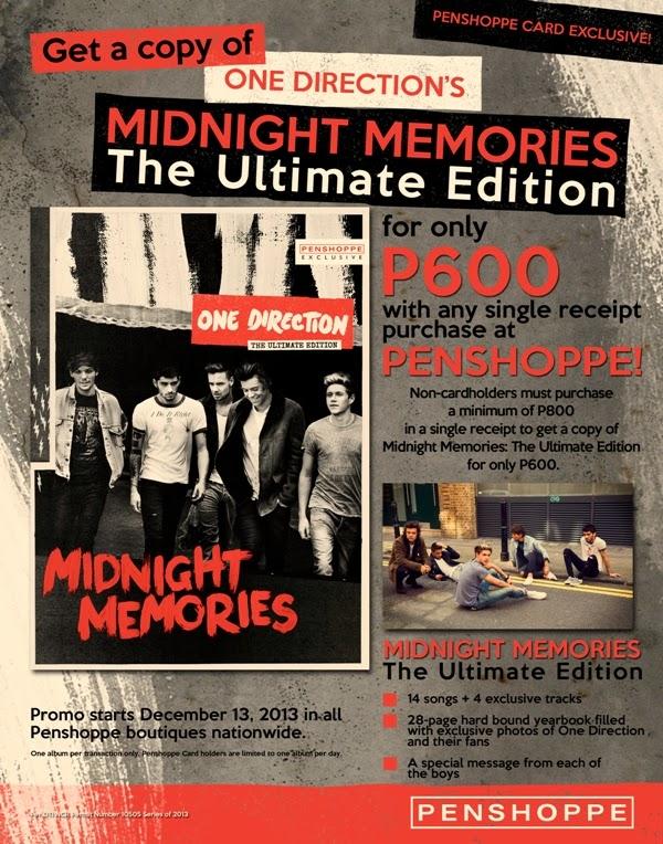 Shopgirl Jen: Penshoppe x One Direction's Midnight ...